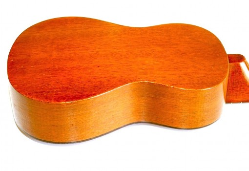 Gretsch Solid Mahogany Soprano Ukulele Reverse Body