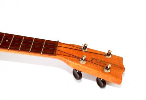Kamaka Gold Label Solid Koa Soprano Ukulele Head