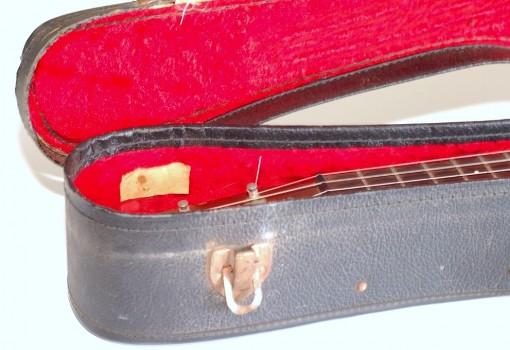 Martin Style-1 Tenor Mahogany Ukulele Inside Case Head