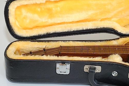 Favilla Model U-2 Mahogany (1930s) Soprano Ukulele Fingerboard