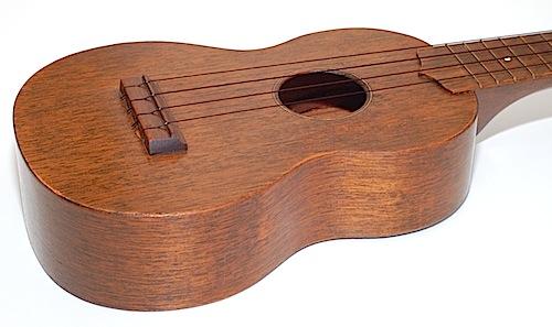 Favilla Model U-2 Mahogany (1930s) Soprano Ukulele Body